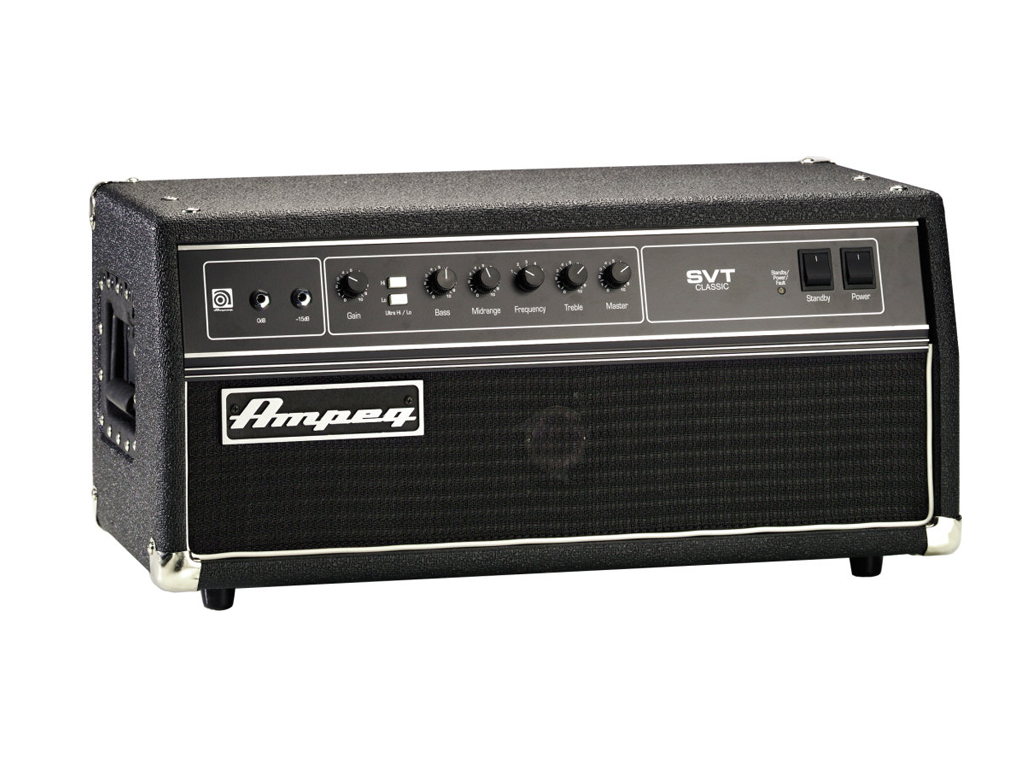 Ampeg SVTClassic - Backline Rental Europe Amsterdam Netherlands