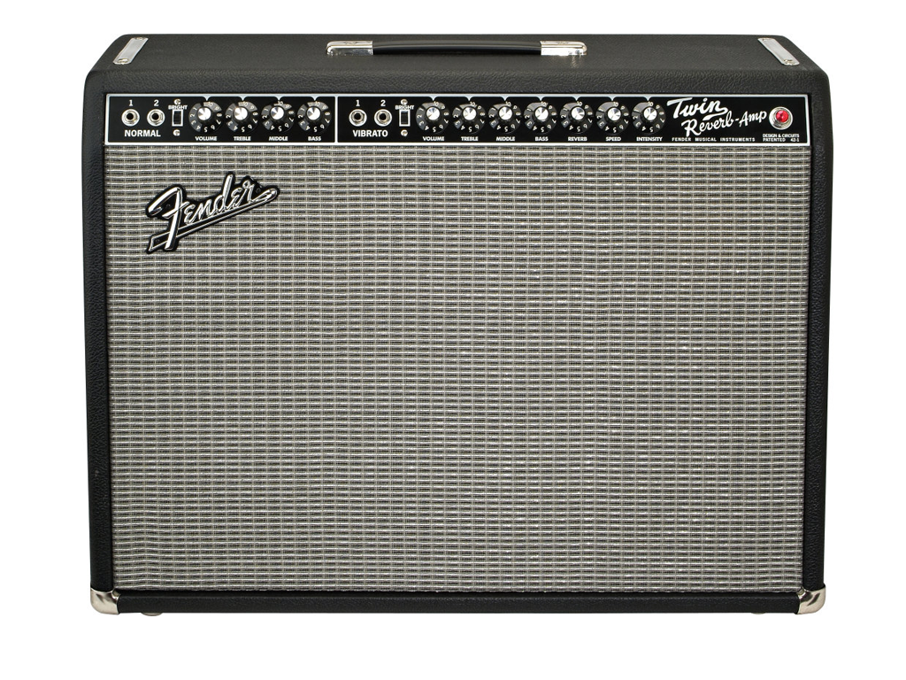 Fender Twin Reverb 65 reissue - Backline Rental Europe Amsterdam Netherlands