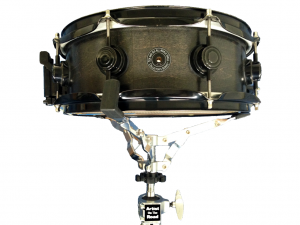 "DW Black Satin Maple (black hardware) 13x5"" Snare Drum"