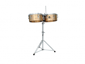 "LP Timbales 14/15"" With Stand"
