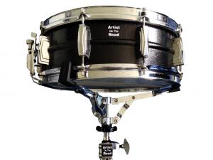 "Ludwig Supraphonic Metal Black 14x5"" Snare Drum"