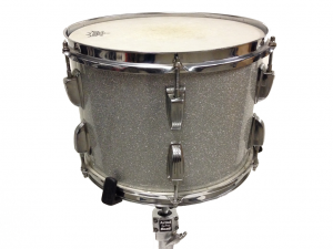 Ludwig Vintage Drum Kit Silver Sparkle