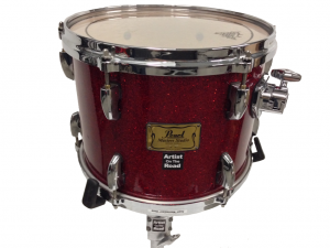 Pearl Masters Studio Drum Kit Red Sparkle