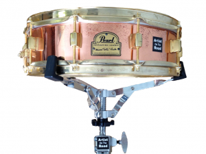 "Pearl Signature Series Marvin ""Smitty"" Smith Copper/Brass 14x4"" Snare Drum"