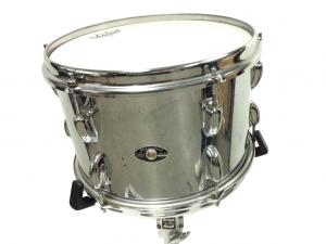 Slingerland Vintage Drum Kit Stainless Steel over Wood
