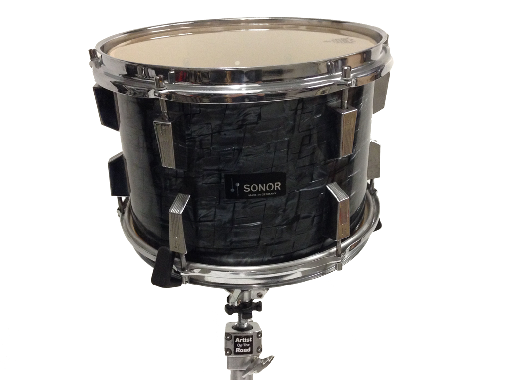 Sonor Vintage Drum Kit Black Onyx - Backline Rental Europe Amsterdam Netherlands