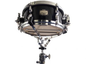 "Yamaha Dave Wackl Maple Black (dual snares) 13x5,5"" Snare Drum"