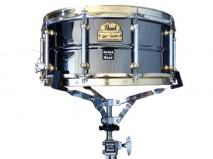 "Pearl Signature Series Steve Ferrone Black Nickel Plate Brass 14x6,5"" Snare Drum"