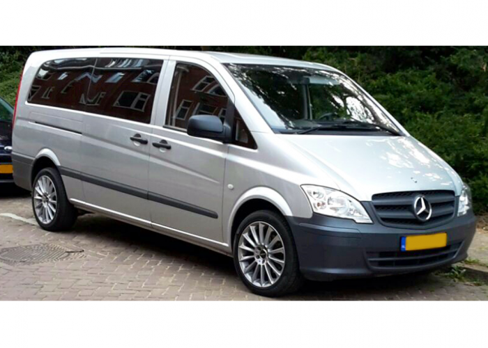Mercedes Benz Vito 5 Seater Automatic Airco Cruise - Van Rental Tour Support Service Europe Amsterdam Netherlands Artist on the Road
