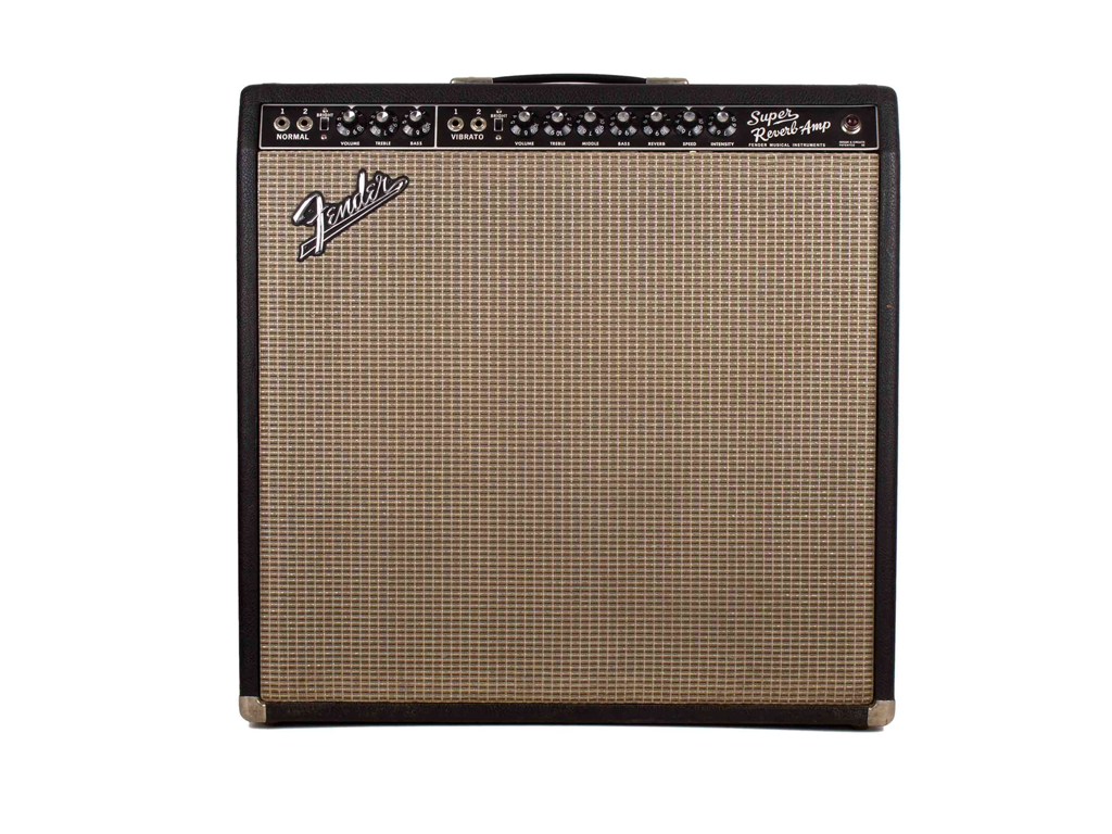 Fender Super Reverb Vintage 58 - Backline Rental Europe Amsterdam Netherlands