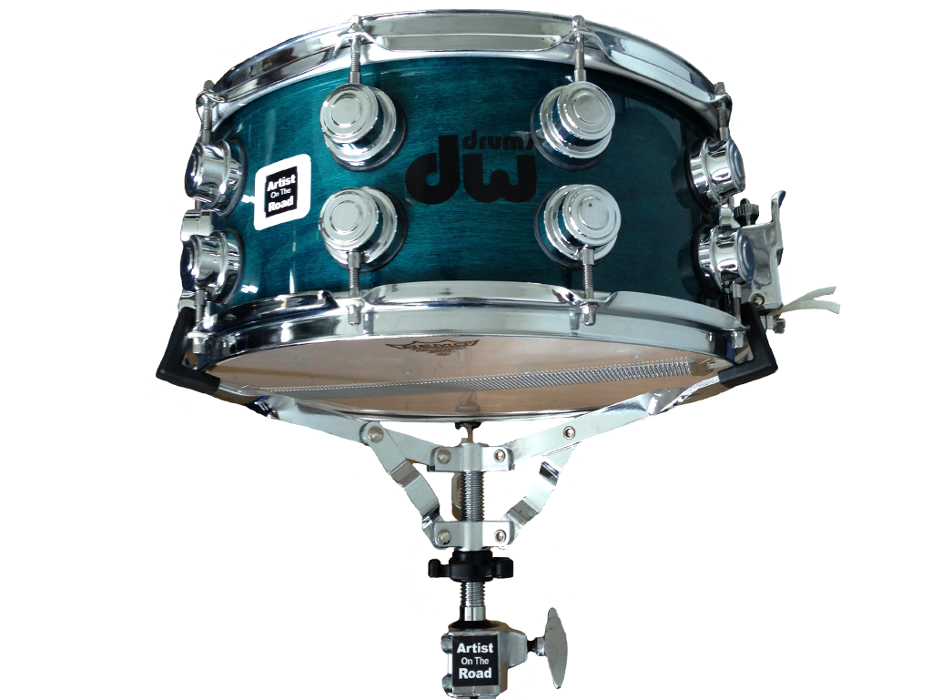 "DW Green Wood Maple 14x6"" Snare Drum - Backline Rental Europe Amsterdam Netherlands"