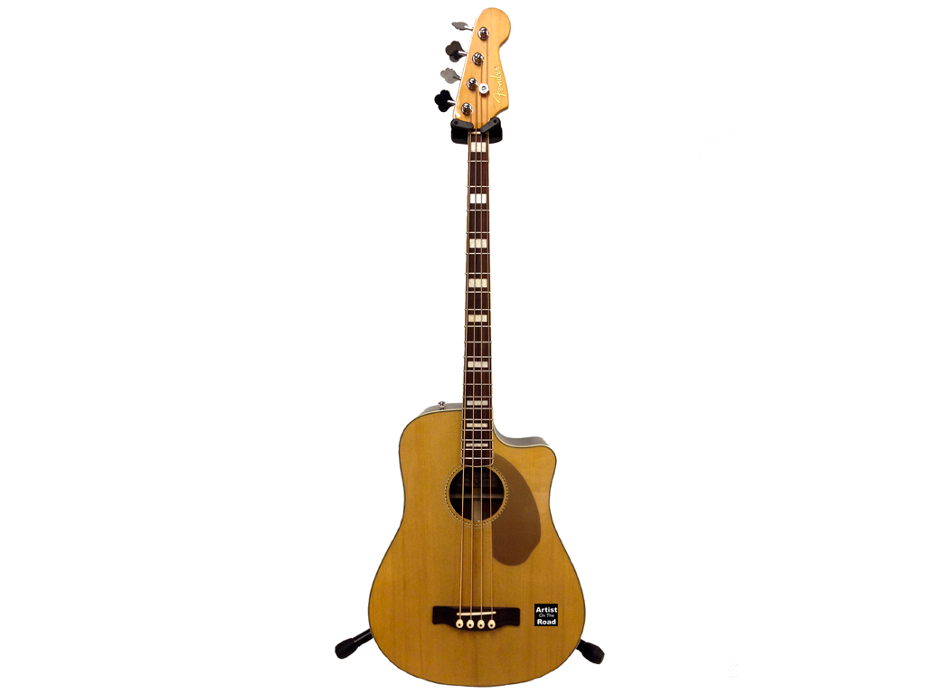 Fender Kingman Acoustic Bass - Backline Rental Europe Amsterdam Netherlands