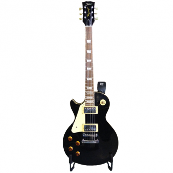 Tokai Les Paul Black Left Handed - Backline Rental Europe Amsterdam Netherlands