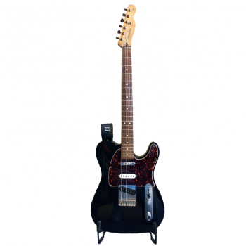 Fender Telecaster Mexico Black Deluxe - Backline Rental Europe Amsterdam Netherlands