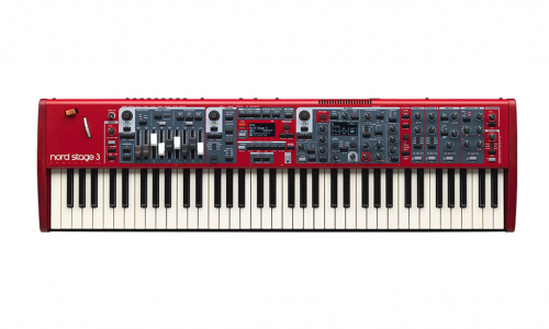 Clavia Nord Stage 3 SW73 Compact - Backline Rental Europe Amsterdam Netherlands