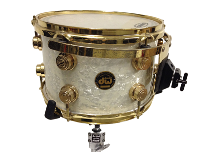 DW Collectors Drumkit White Pearl