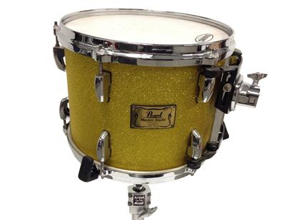Pearl Masters Studio Drum Kit Gold Sparkle
