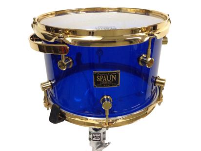 Spaun Drum Kit Blue Acrylic