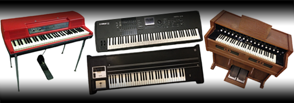Keys Rental Europe Piano Synthesizer Rental Amsterdam Netherlands - Artist on the Road Backline Rental